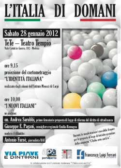 Modena, 28.1.2012